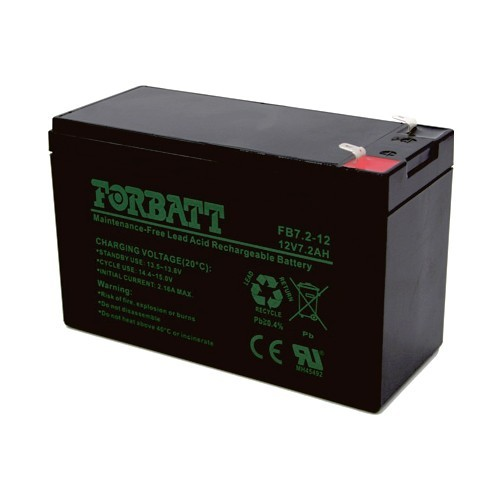12VDC Lead Acid Battery (7AH)