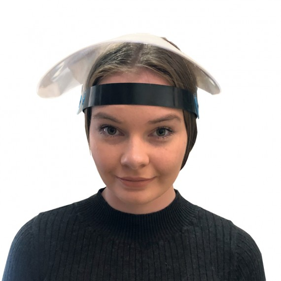 Face shield with strap (10 Pack)